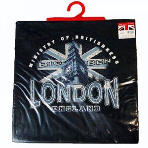 London Kids Tshirts (1-2 years) Black – Big