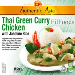 Authentic Asia Thai Green Curry Chicken with Jasmi