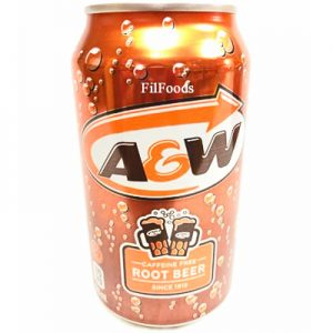 A&W Root Beer (USA) Caffeine Free 355ml