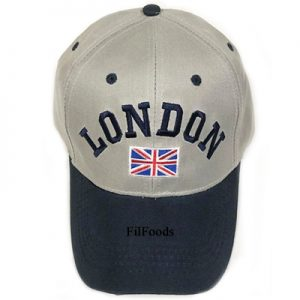 Unisex Grey/Navy London Union ...