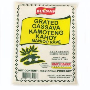 Buenas Grated Cassava (Kamoteng Kahoy)