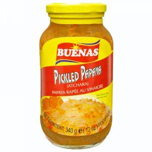 Buenas Pickled Papaya (Atchara)