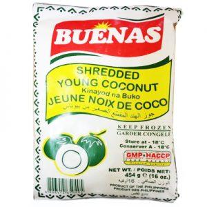 Buenas Shredded Young Coconut (Buko)