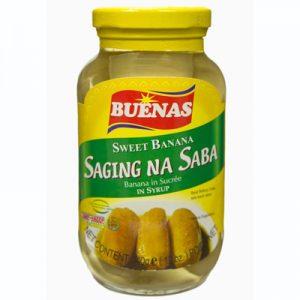 Buenas Sweet Banana In Syrup (Saging na Saba)