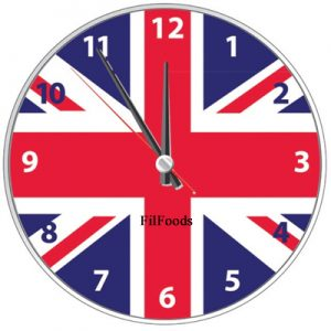 9″ Wall Clock – Union Jack