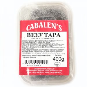 Cabalen Beef Tapa 400g