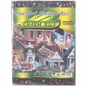 Charm Thai Black Glutinous Rice 1Kg