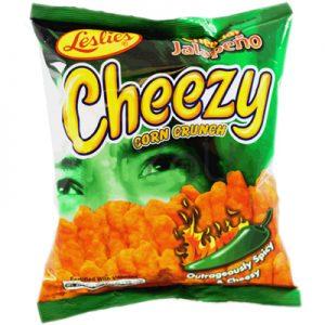 Leslie's Cheezy Corn Crunch – Cheddar