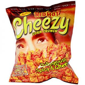 Leslie's Cheezy Corn Crunch – Red Hot