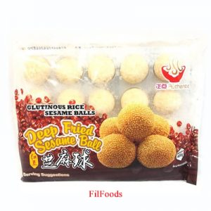ZD Deep Fried Sesame Ball (Buchi) 20pcs / 400g