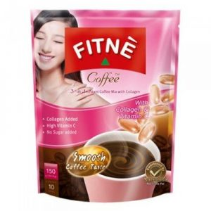 Fitne Diet Coffee Mix 3 in 1 with Collagen &