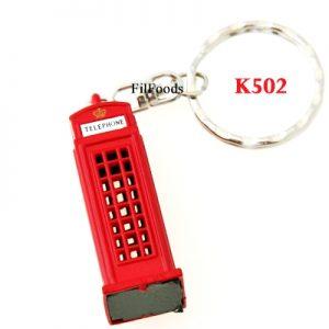 Keyring Die Cast – Telephone Box