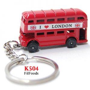 Keyring Die Cast – London Double Decker Bus