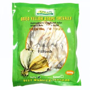 Kimson Dried Yellow Stripe Trevally (Salty) 200g
