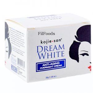 Kojie San Dream White Anti-Aging Overnight Cream 3