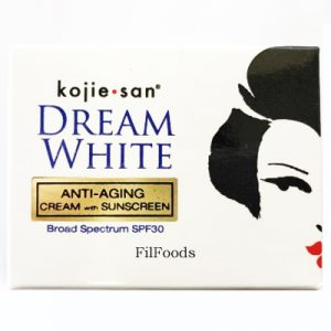 Kojie San Dream White Anti-Aging Cream with Sunscr
