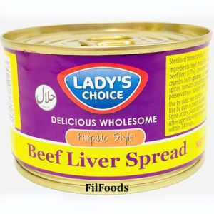 Lady's Choice Beef Liver Spread 165g