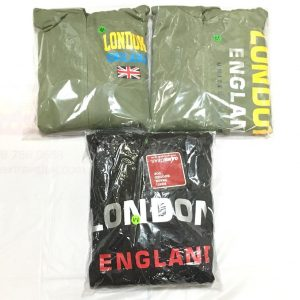 London Hoody with Zip – Medium