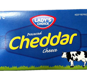 Lady's Choice Cheddar Cheese (Box)