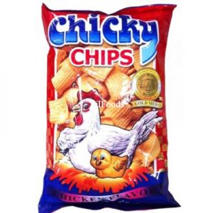 Lala Chicky Chips Chicken Flavour 100g