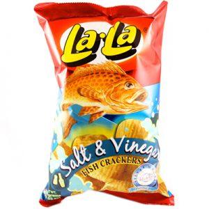 Lala Fish Crackers Salt & Vinegar