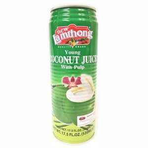 Lamthong Coconut Juice with Pulp 520ml