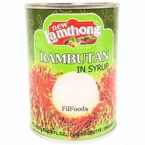 Lamthong Rambutan in Syrup