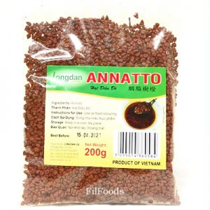 Longdan Annatto Seeds 200g