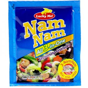 Lucky Me Namnam All-3-in-One Seasong Granules 12x8