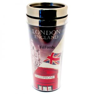 Travel Mug – London England Vintage