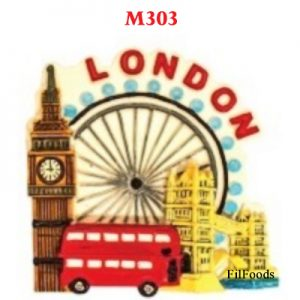 Resin Magnet – London At...