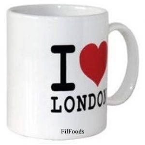 Mug – I Love London White