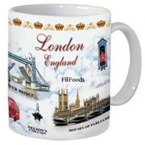 Mug – London Attractions White