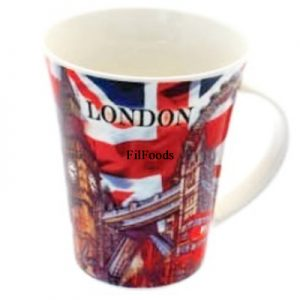 Bone China Mug – London Union Jack Collage