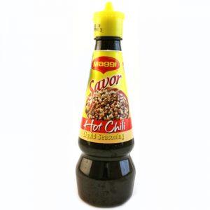 Maggi Savor Hot Chili Liquid Seasoning 130ml