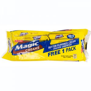 JnJ Magic Creams Butter Flavored Cream Cracker San