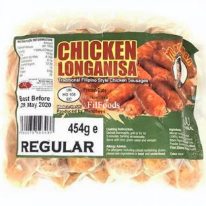 Mandheys Manyaman Chicken Longanisa 454g