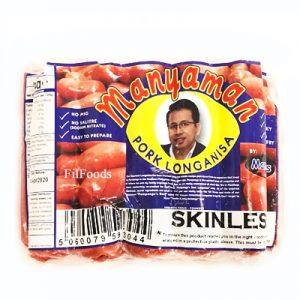 Mandheys Manyaman Pork Longanisa Skinless 454g