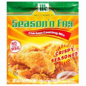 McCormick Season n Fry Chicken Coating Mix –