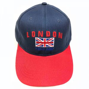 Unisex Navy/Red London Union Flag England Cap
