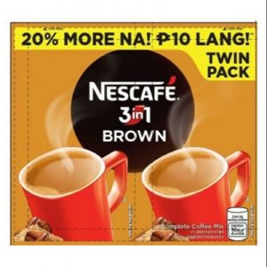 Nescafe Brown 3in1 (Twin Pack)
