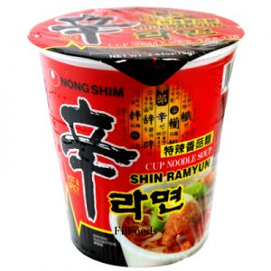 Nongshim Shin Ramyun Gourmet Spicy Cup Noodle Soup