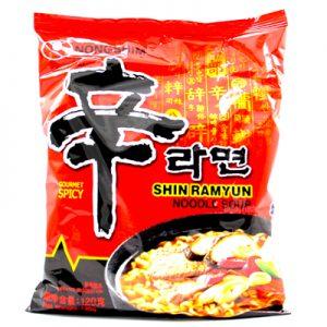 Nongshim Shin Ramyun Gourmet Spicy Noodle Soup 120