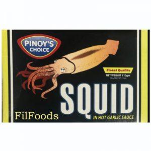 Pinoy's Choice Squid in Hot Garlic Sauce 110