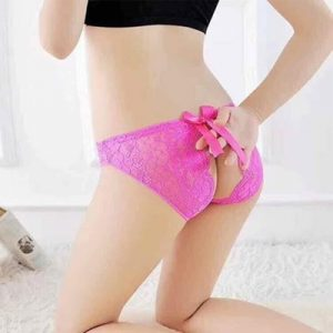 Women's Sexy Panty (Free Size) Rose Red