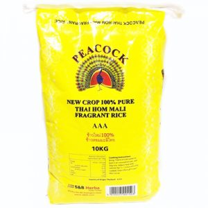 Peacock Thai Fragrant Rice 10Kg