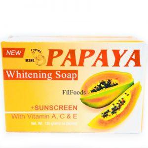 RDL Papaya Whitening Soap Sunscreen 135g