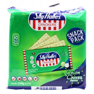 Skyflakes Crackers – Onion & Chives 10x