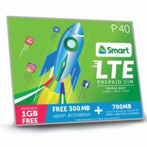 Smart LTE Prepaid Sim Card