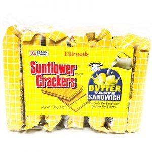 Sunflower Crackers – Butter 7x27g